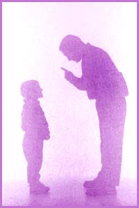narcissistic-parents-father-and-son-silhouette